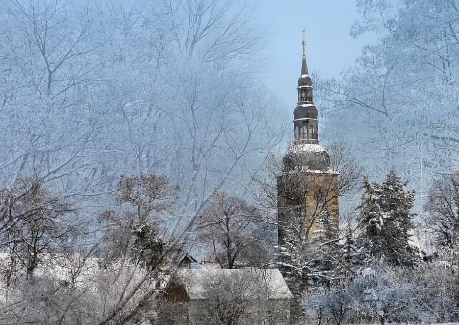 ev. Kirche  St. Viti  (Collage)